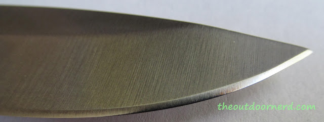 Elk Ridge Er-196 Fixed Blade Knife - Closeup Of Blade 7