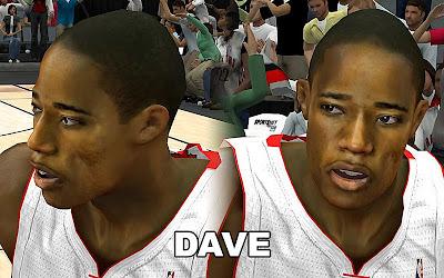 NBA 2K13 DeMar DeRozan Cyber face Mod