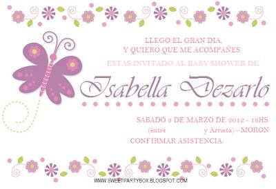 Libro de Mensajes de Baby Shower - Invitaciones para baby