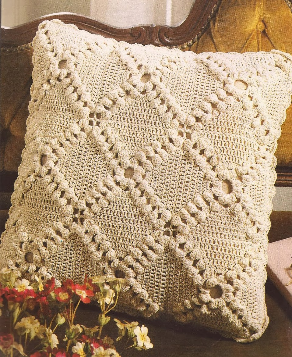 Cojin a crochet - Cojin de crochet ...