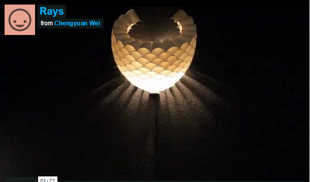 Lampu Hias Unik dari Styrofoam