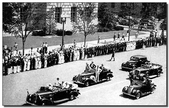 President Franklin D Roosevelt Secret Service