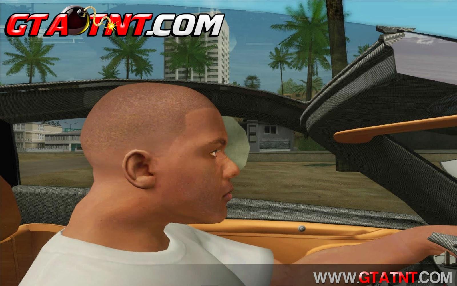 GTA SA - Auto retrato do GTA V