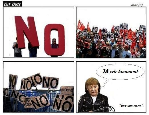 Angela Merkel - EU austerity