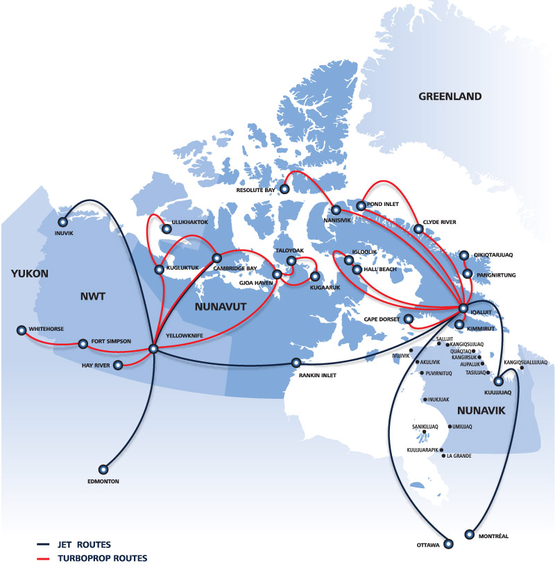 alert nunavut on the map