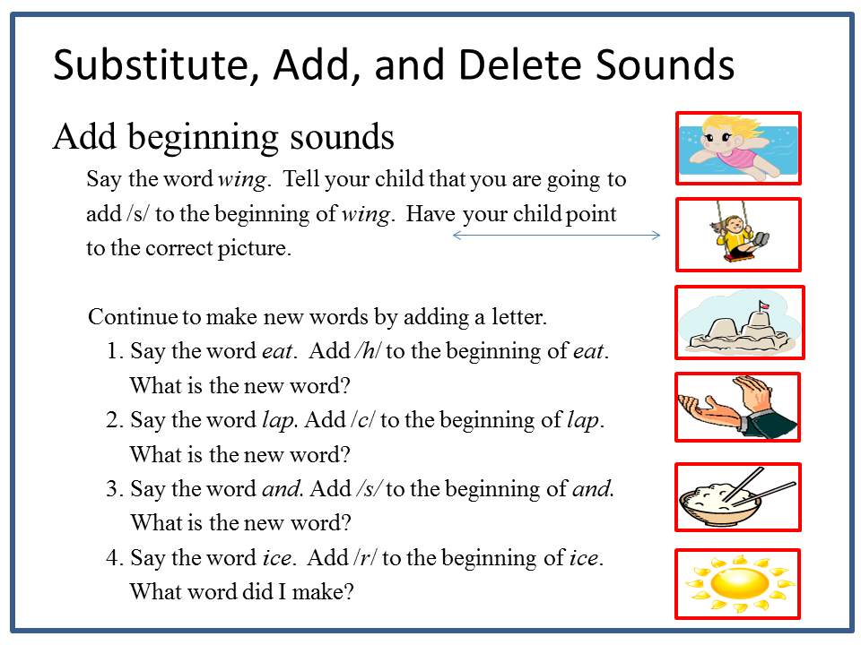 reading2success: what word is it? substituting, adding, and