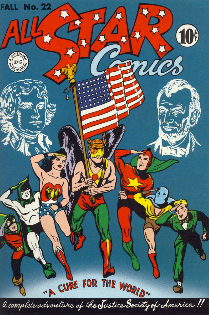 The Justice Society - from the beginning: All-Star Comics ...