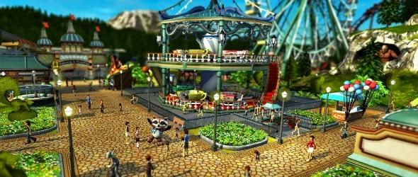Jeux vidéo : Nouvelles images pour RollerCoaster Tycoon World