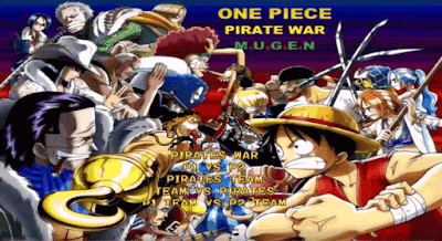 free download game One Piece Pirate War MUGEN 2015 for pc