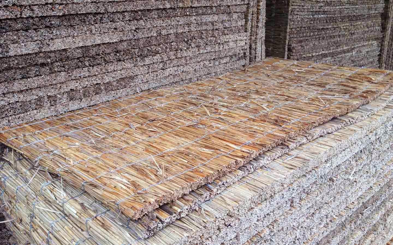 Pannelli in cannicciato, isolante termico naturale, formati