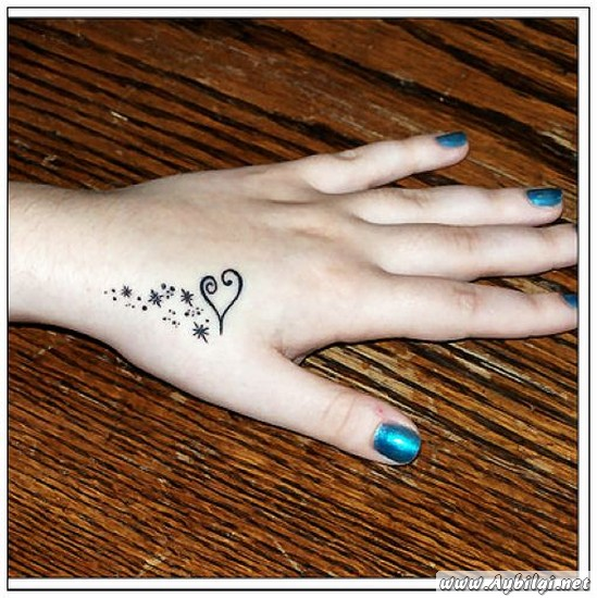 Small heart tattoos for women