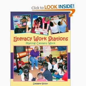 http://www.amazon.com/Literacy-Work-Stations-Making-Centers/dp/1571103538/ref=sr_1_1?ie=UTF8&qid=1371229720&sr=8-1&keywords=literacy+stations