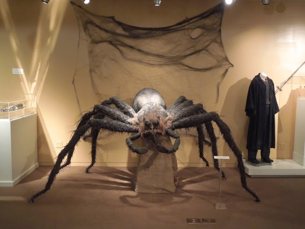 Aragog giant spider prop Harry Potter Chamber of Secrets
