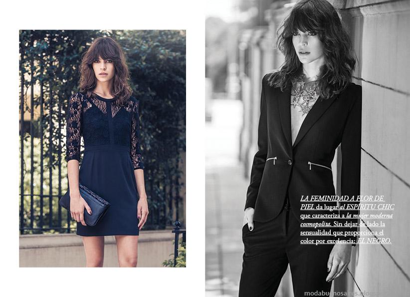 Moda otoño invierno 2015. Vestidos, trajes, blusas, pantalones Markova otoño invierno 2015.