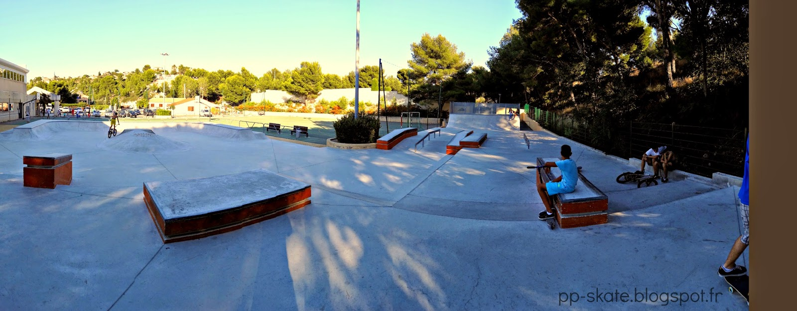 skatepark sausset les pins