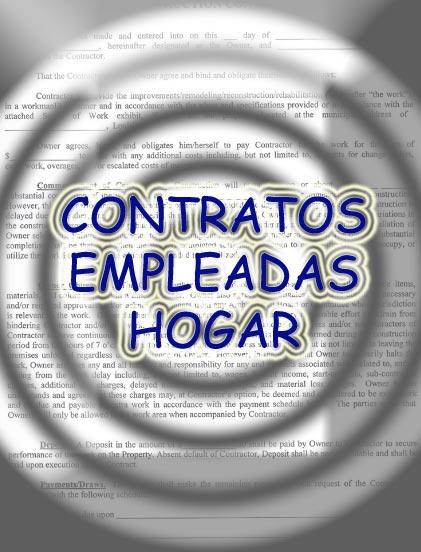 Empleada del hogar informaci n y consejos tiles for Contrato empleada hogar