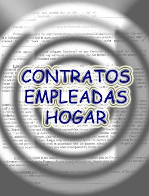 contratos empleadas hogar