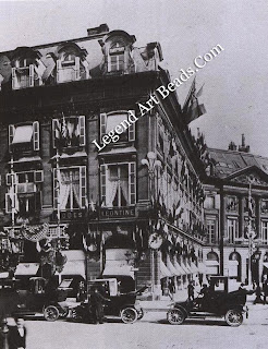 The premises at 26 Place Vendome where Frederic Boucheron moved his establishment in 1893.