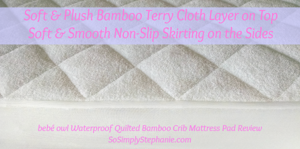 Crib Mattress Pad Review