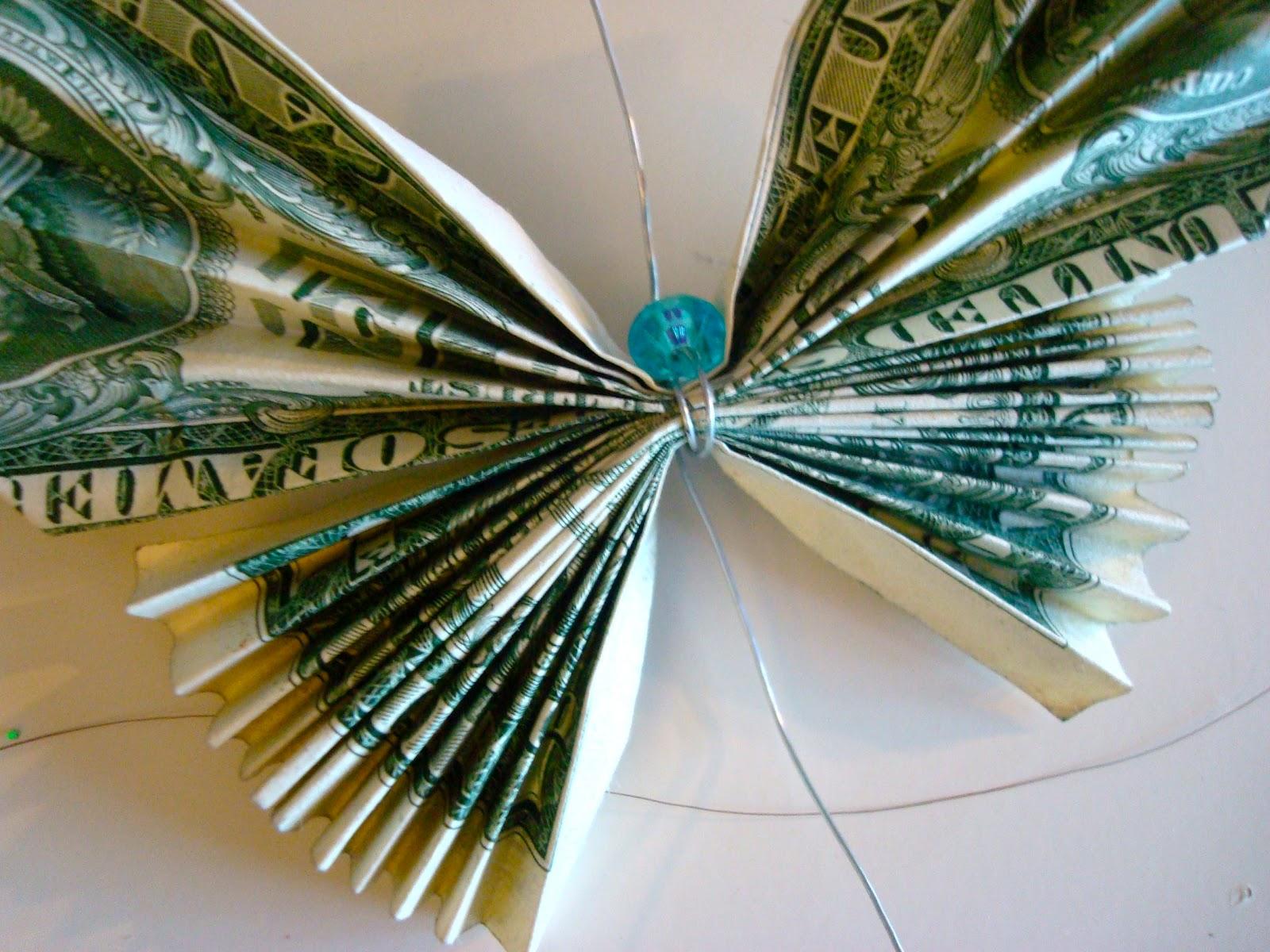 Бусы из денег своими руками 597