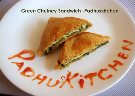 Sandwich Recipe-Indian