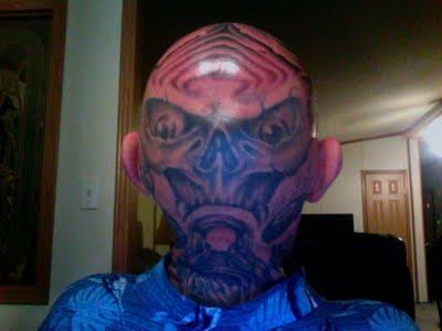 tattoo design bald head tattoo. Black Bedroom Furniture Sets. Home Design Ideas