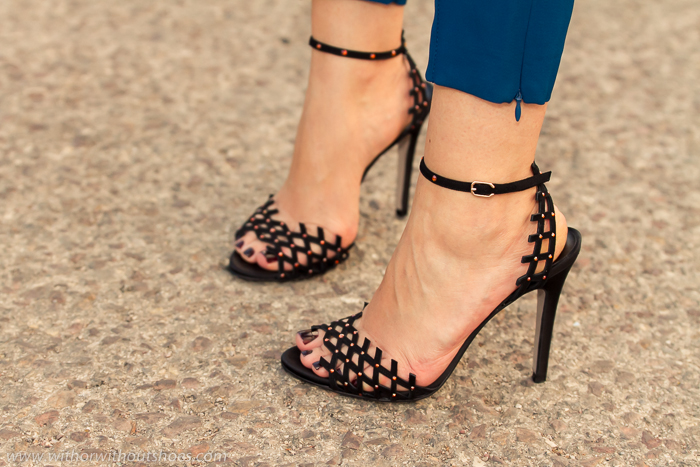 Shoeaholic blogger jewel sandals MAde in Spain