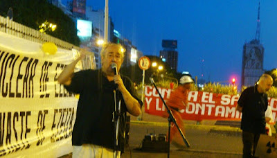Manifestación Anti Nuclear