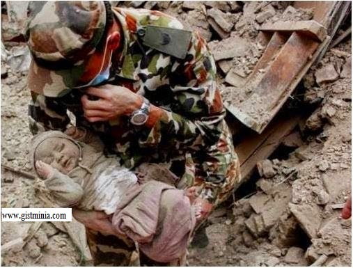 Four -4- months Old Boy Saved after 4 days in Nepal earthquake