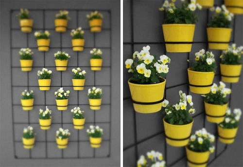 insitu wall planter
