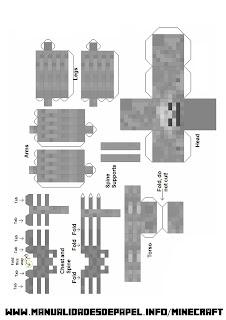 Crear bloque minecraft de Esqueleto