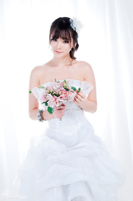 Im Ji Hye in Wedding Dress