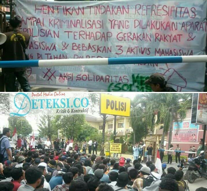"Aktivis Kecam Kapolrestabes Medan, "" Hentikan Pembungkaman Demokrasi """