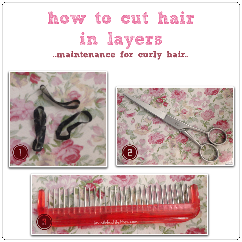 How To Cut Hair in Layers (Maintenance for My Curly Hair)