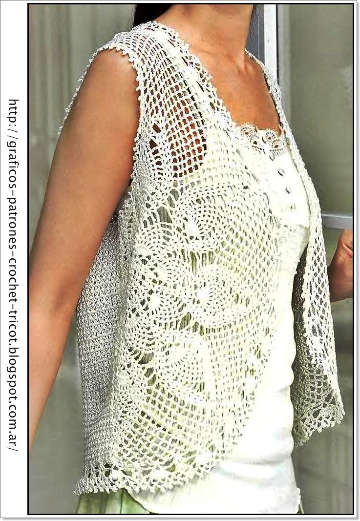 Ganchillo : Tejidos A Crochet Ganchillo Patrones Vestido Tejido A Holidays OO