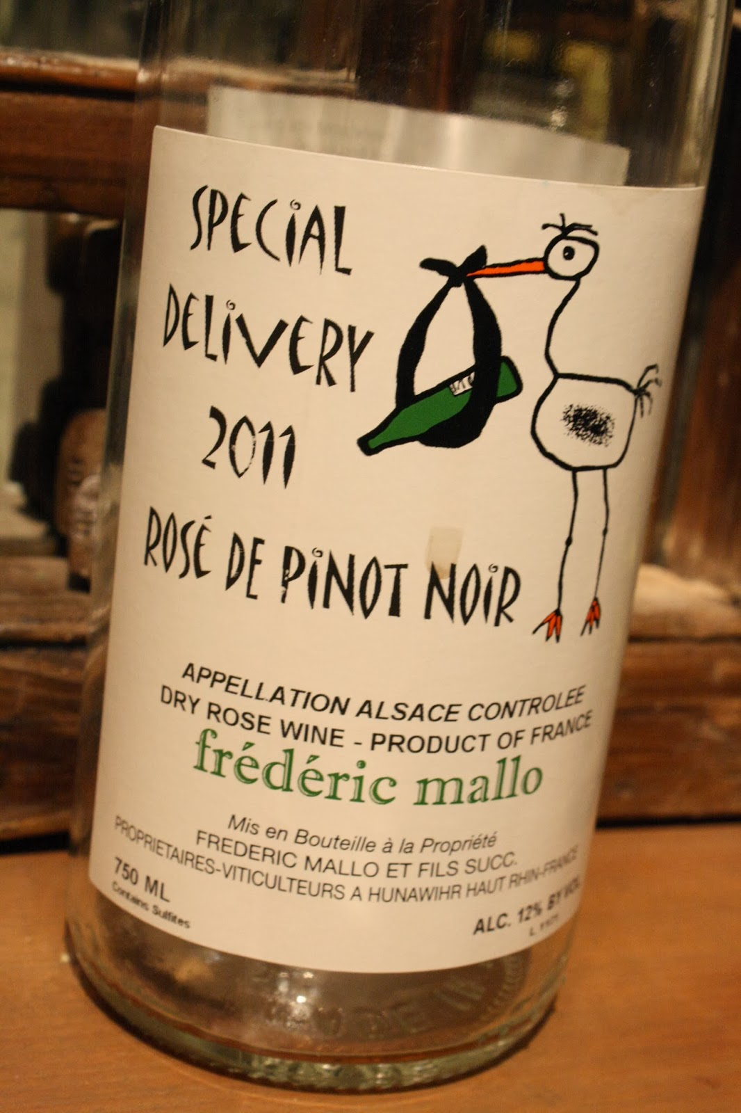 France, Rose Wine, Special Deliver, Rose de Pinot Noir 2011