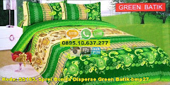 Harga Sprei Bonita Disperse Green Batik-bmp27 Jual