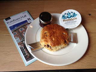 Rainham Hall scone