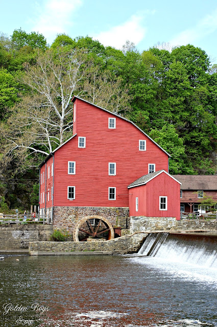 Red mill Clinton NJ-www.goldenboysandme.com
