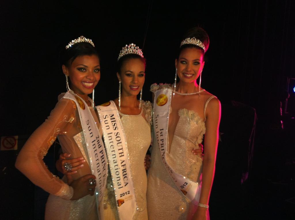 Miss South Africa 2012 winner Marilyn Ramos