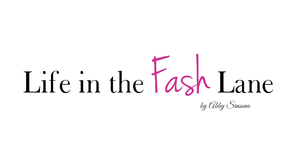 Life in the Fash Lane | Fashion, Beauty & Lifestyle Blog