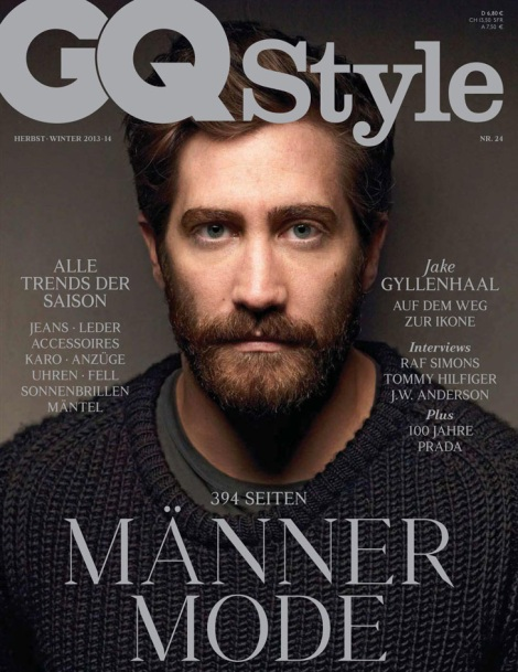 Jake Gylenhaal by Mark Seliger for GQ Style Germany