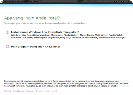 Cara Install Windows Live Writer