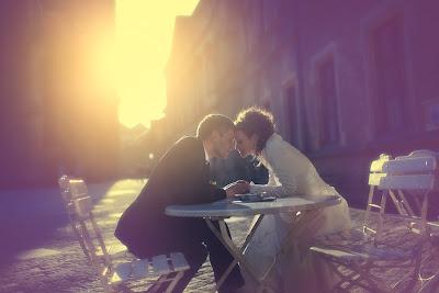 Свадебное фото: наконец-то мы вдвоем