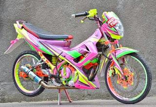 Modifikasi Suzuki Satria FU 150