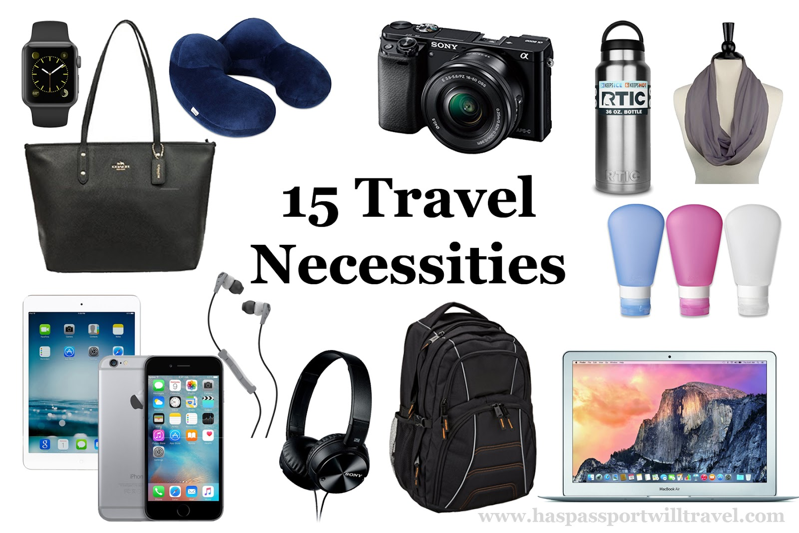 My Travel Necessities