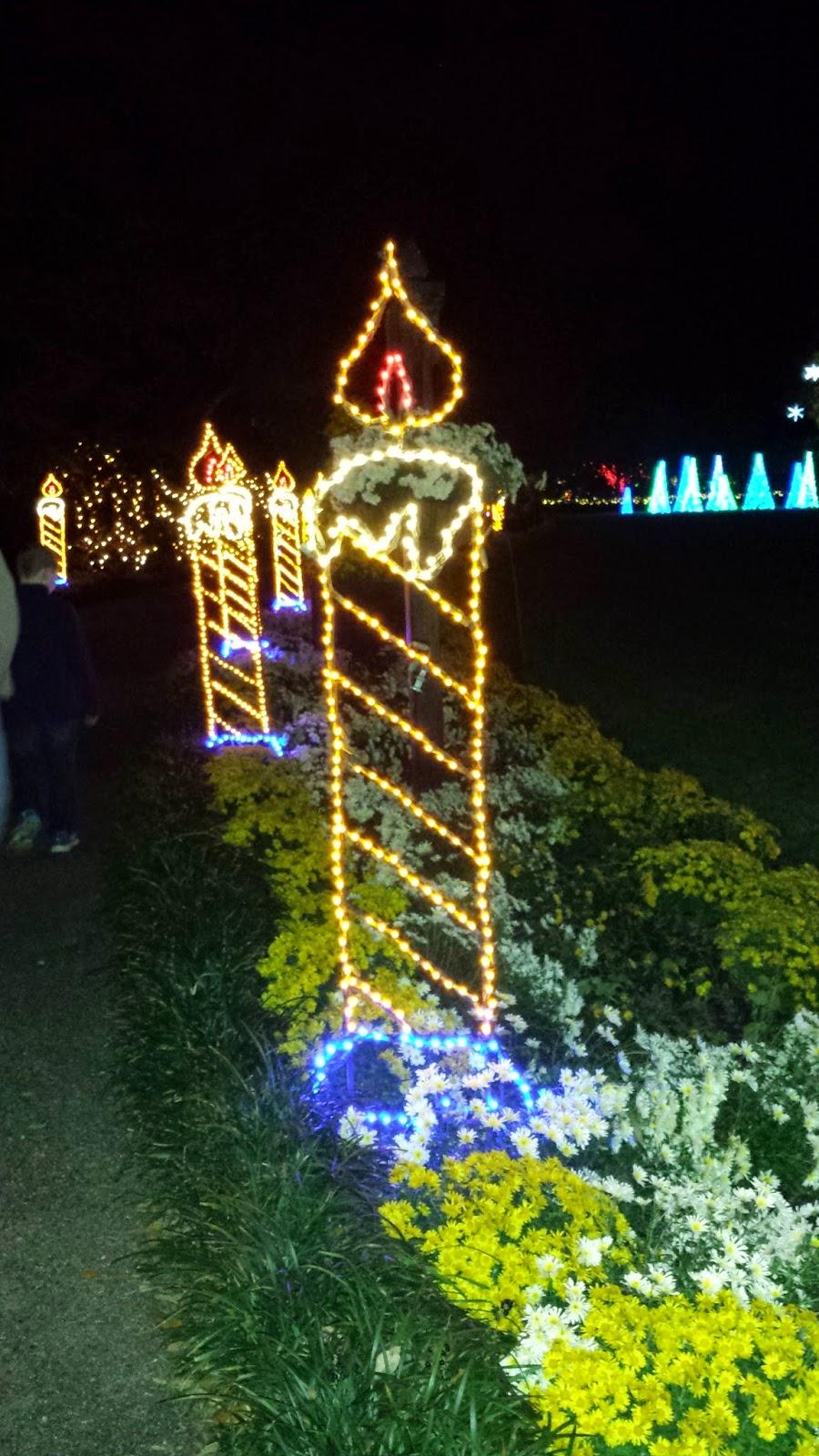 Road Runner Girl Magic Christmas In Lights At Bellingrath Gardens