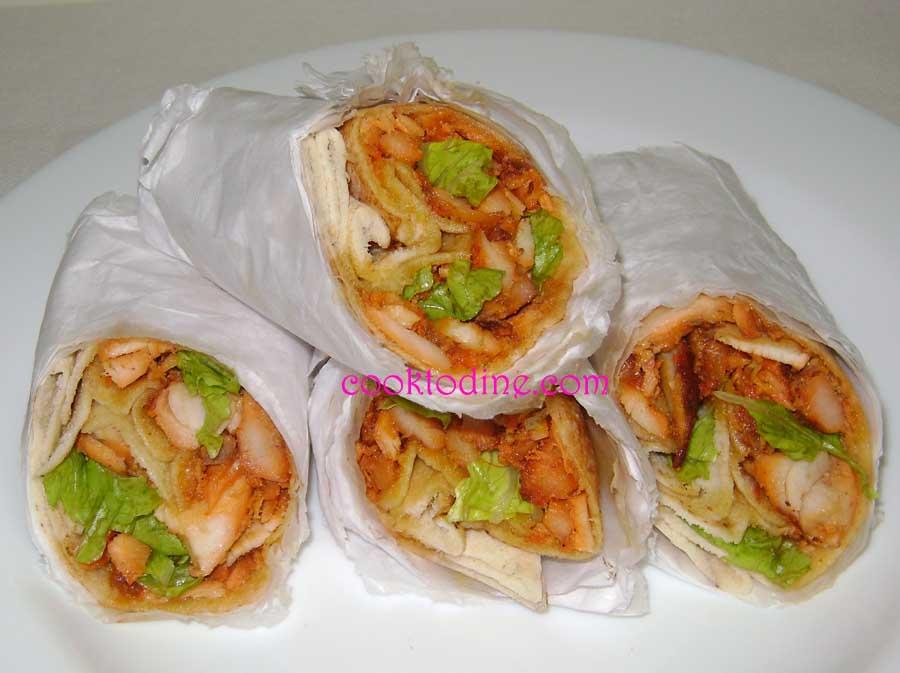cook To dine: Arabic Chicken Shawarma