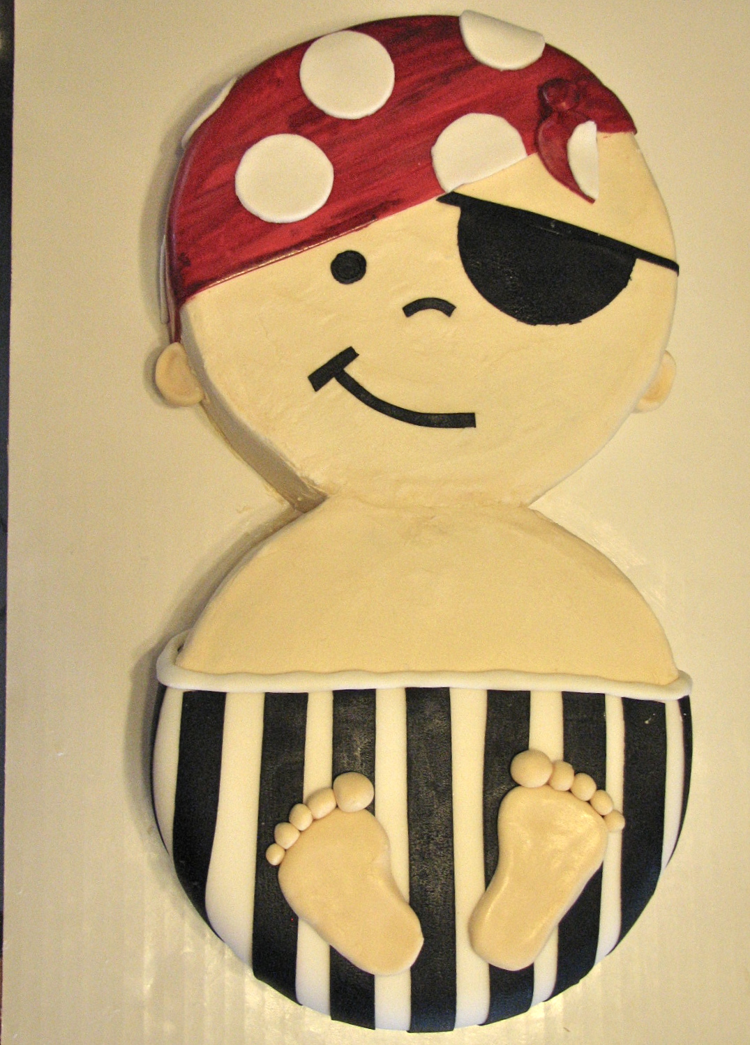 Pirate Baby Shower Cakes Girl Baby Shower Cakes Without Fondant