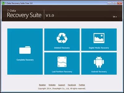Temukan Data Hilang Dengan 7-Data Recovery Suite